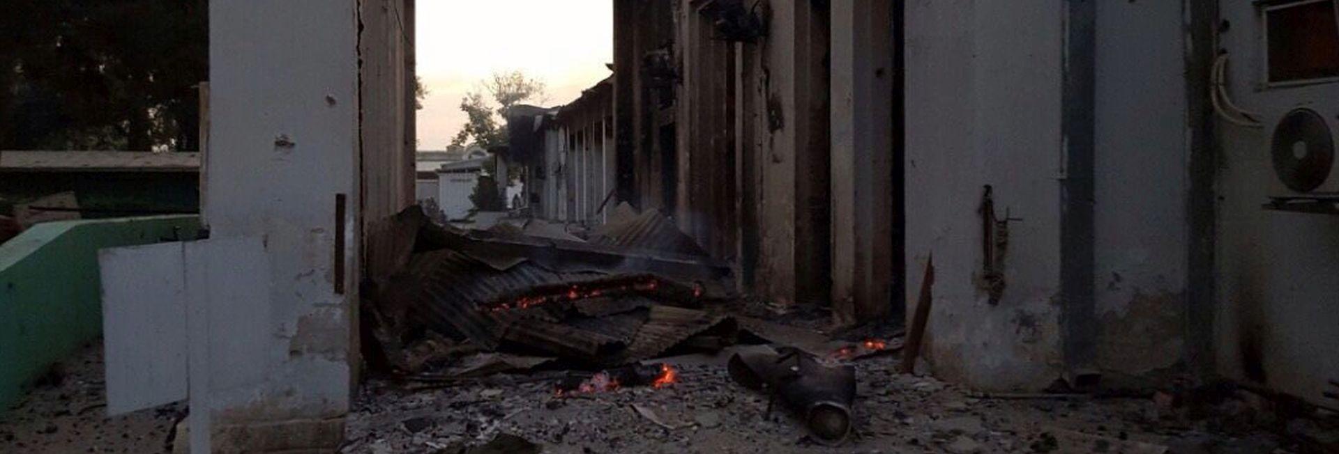 VOJNA ISTRAGA POKAZALA Do napada na bolnicu Liječnika bez granica u Kunduzu došlo zbog 'ljudske pogreške'