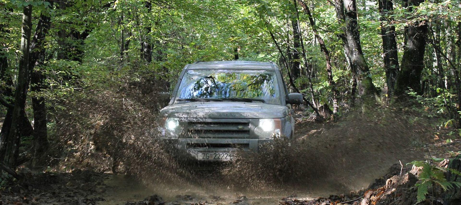 Land Rover avantura na Petrovoj gori