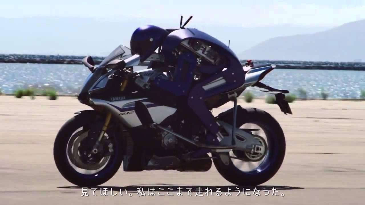 VIDEO: MOTOBOT Yamaha predstavila robot koji može voziti motocikle