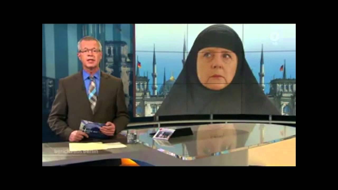 VIDEO: Njemački TV kanal pod paljbom zbog fotomontaže kancelarke Angele Merkel