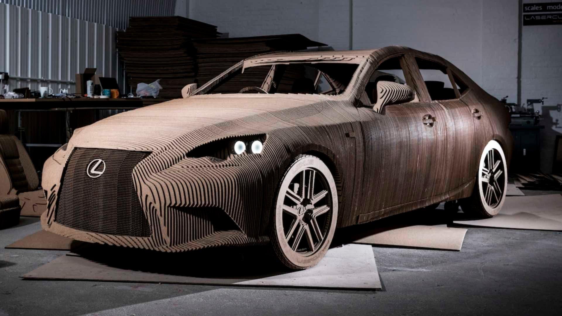 VIDEO: 'ORIGAMI AUTO' Lexus napravljen od kartona, možete ga i voziti