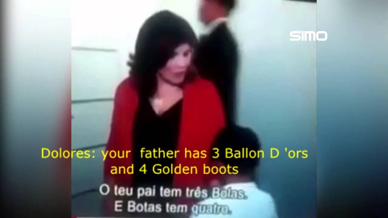 VIDEO: ZNA TKO MU JE IDOL Cristiano Ronaldo Jr.: 'Baka, baka, koliko Leo Messi ima Zlatnih kopački?'