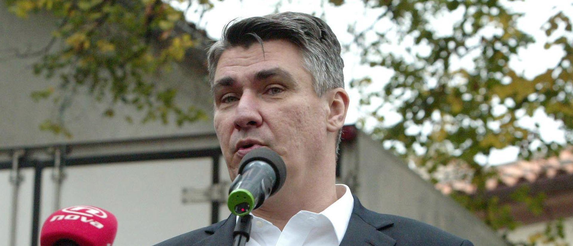 Milanović: HDZ nudi kukavičje jaje, trebamo se sučeliti Karamarko i ja