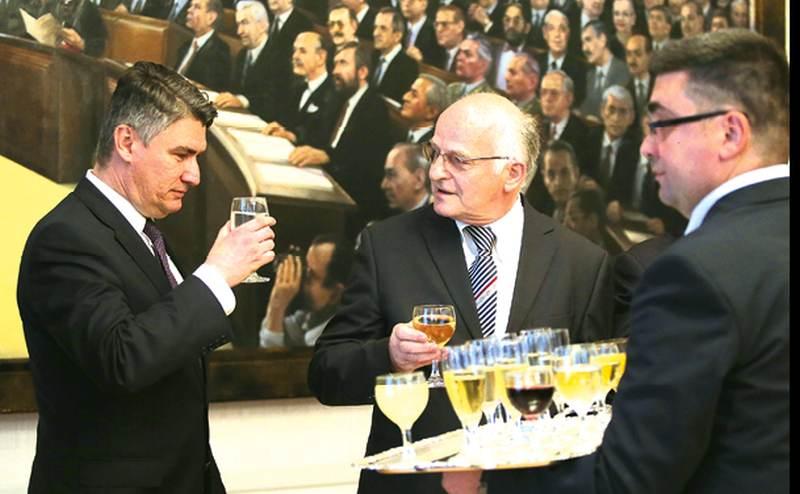 Milanović i Bandić kucnuli su čaše