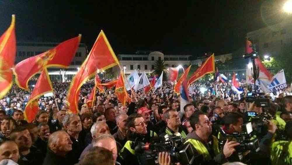Novi prosvjedi protiv vlade premijera Đukanovića u Podgorici