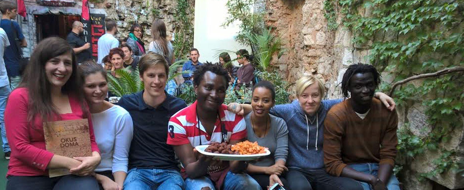Izbjeglice koje se kuhanjem žele integrirati u Hrvatsku