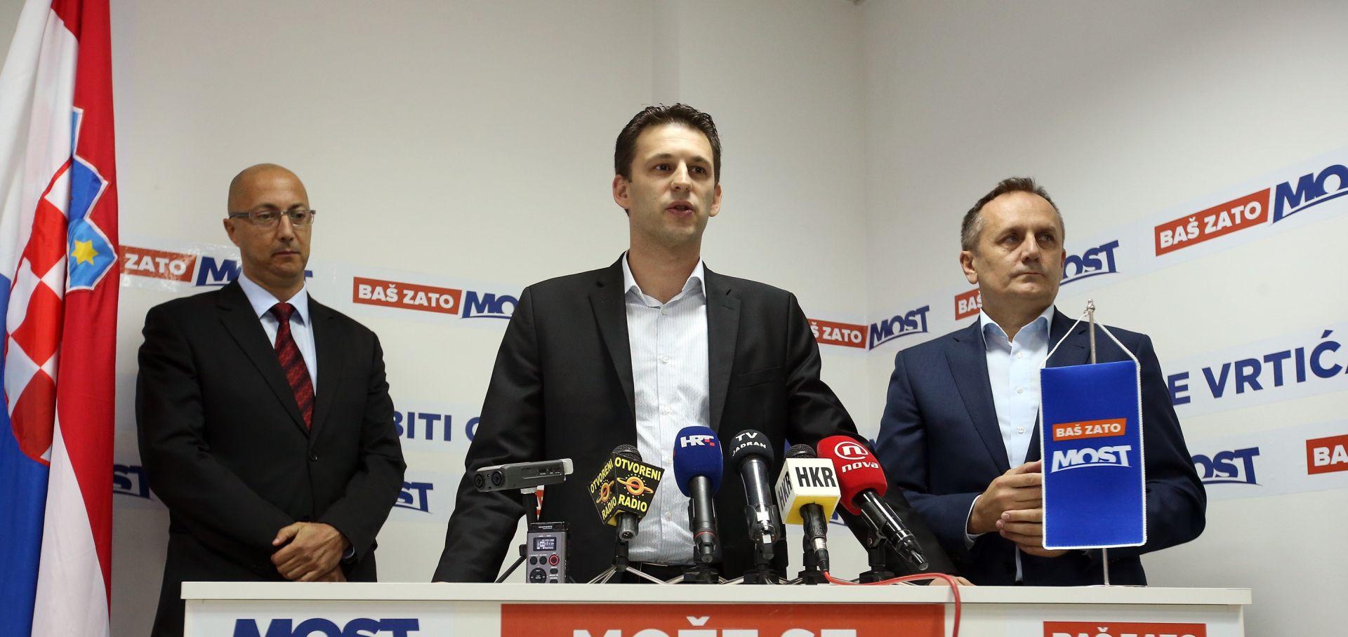 Kovačić: Sutra sastanak Vijeća za suradnju Domoljubne koalicije i Mosta