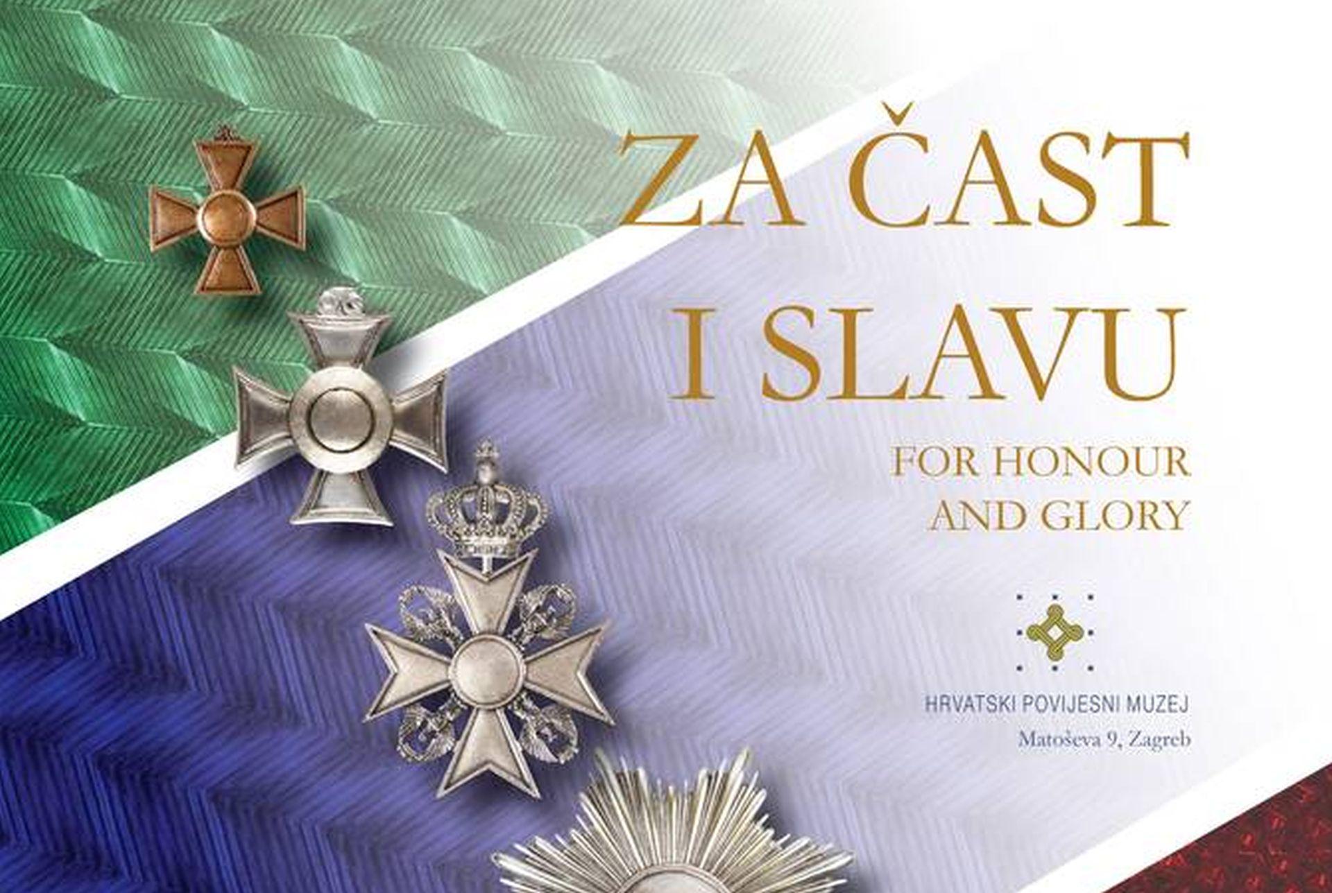 """""""Za čast i slavu"""": izložba odlikovanja u Hrvatskom povijesnom muzeju"""