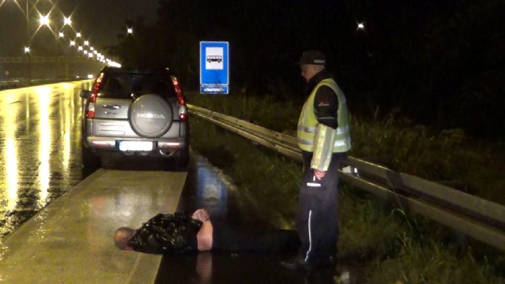 FILMSKA POTJERA: Hrvatski državljanin kod Beograda razbio dvije rampe i deset automobila