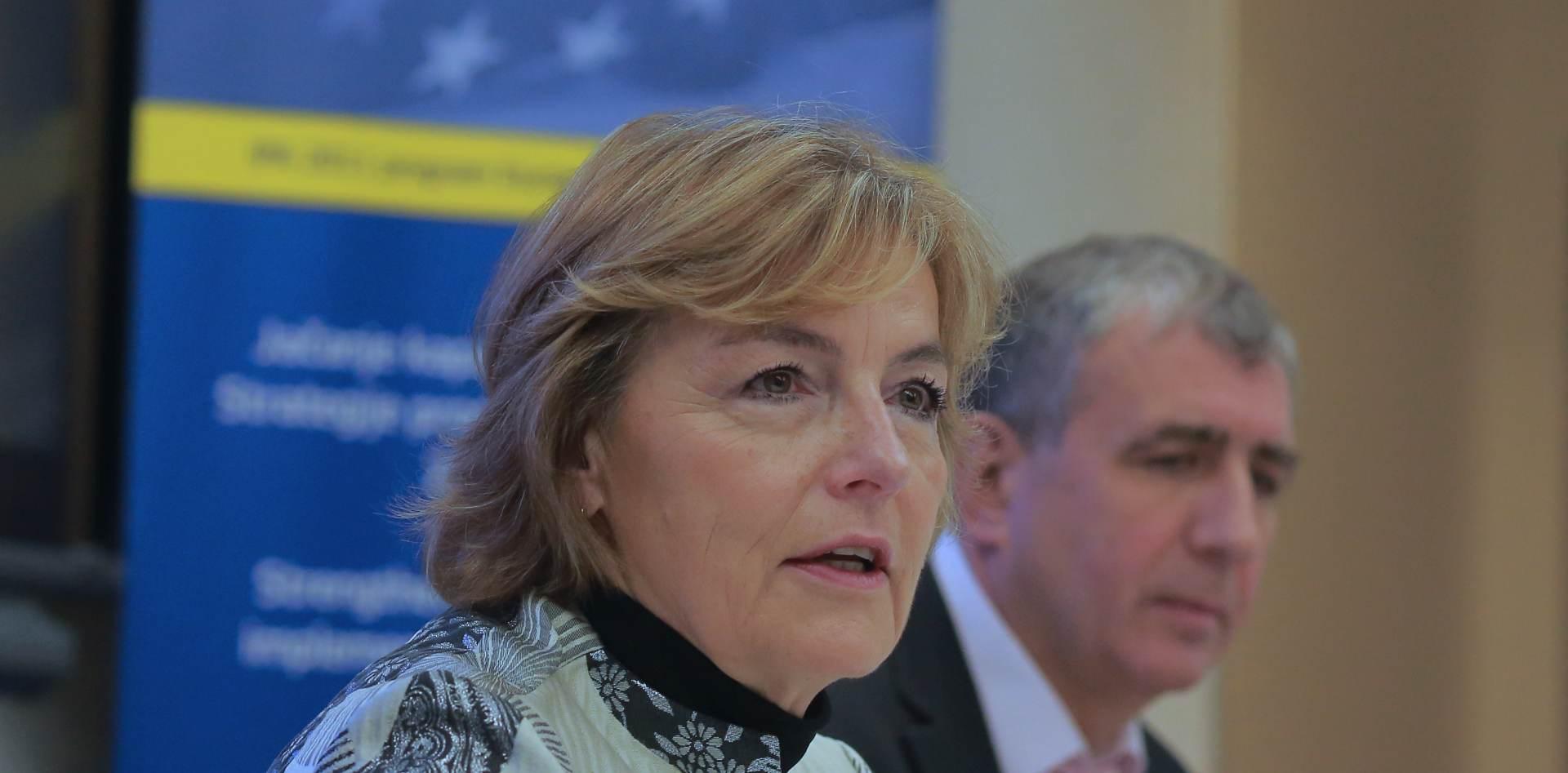 EDUKACIJA UKRAJINSKIH PSIHIJATARA Pusić: Hrvatskoj je drago da može pomoći Ukrajini