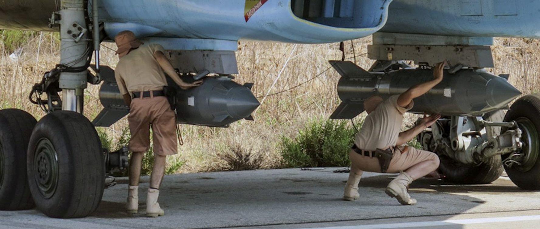 RUSIJA & SIRIJA Bombardiranje Idliba