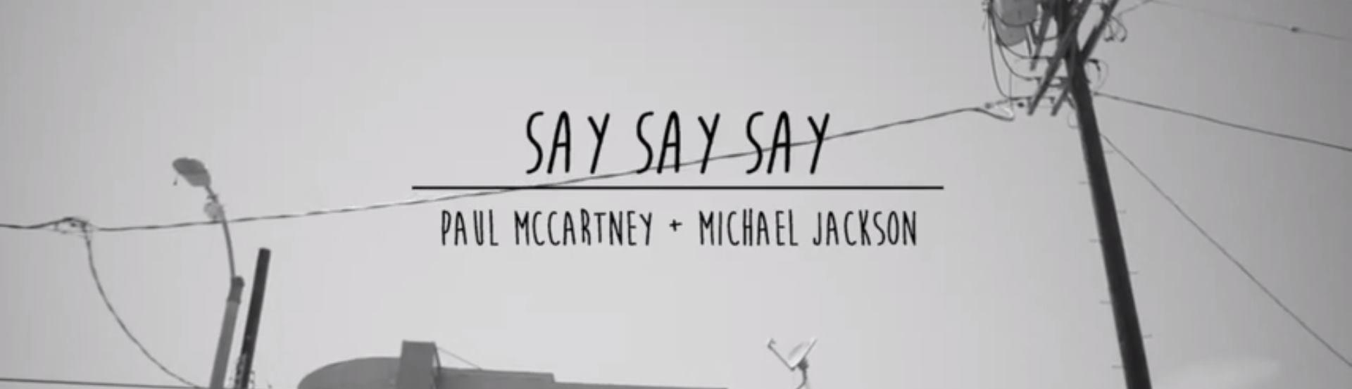 VIDEO: Paul McCartney objavio remix pjesme 'Say, Say, Say'