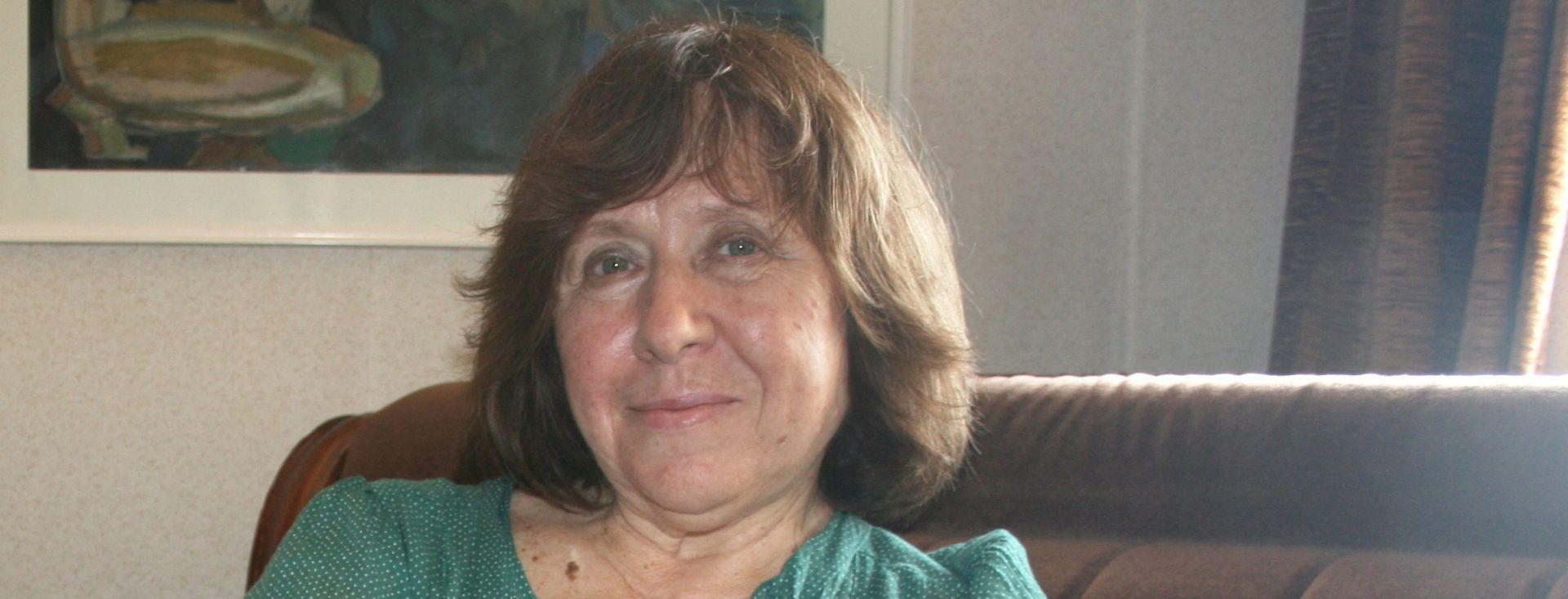 Nobelova nagrada za književnost bjeloruskoj književnici Svetlani Aleksijevič