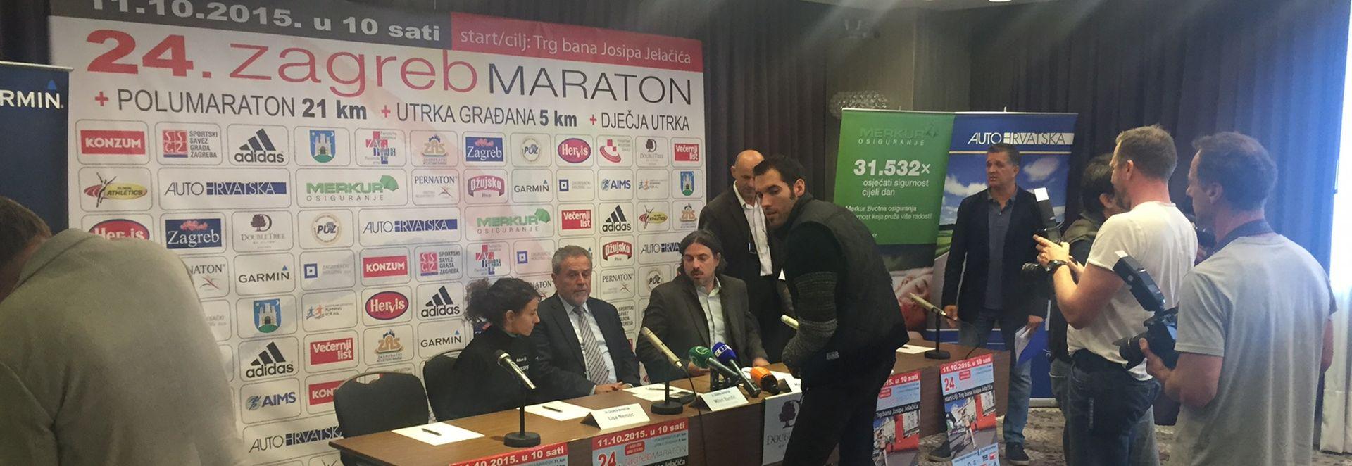 Održana press konferencija povodom održavanja Zagreb maratona