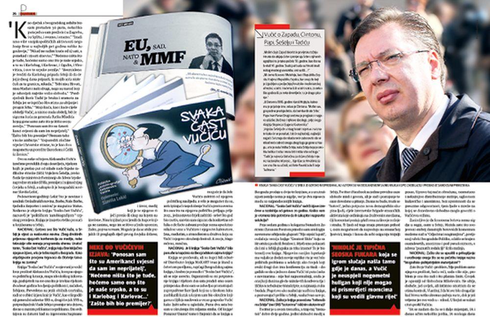 Nacionalov tekst o Vučiću izazvao medijsko ludilo u Srbiji