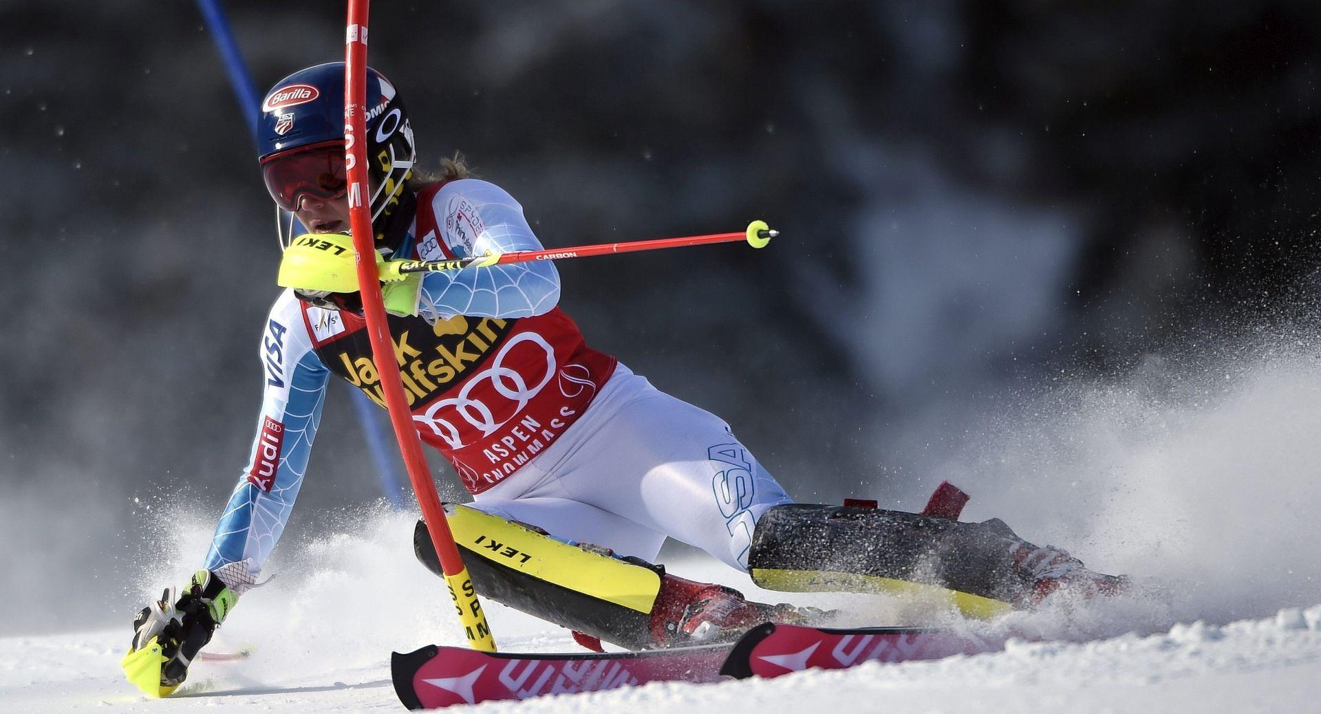 SVJETSKI KUP: Shiffrin slavila na slalomu u Aspenu