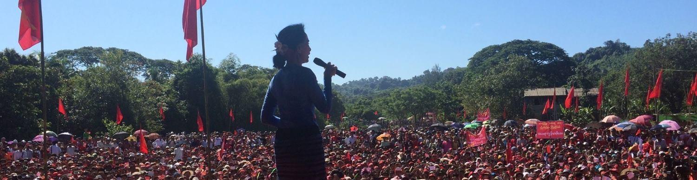 VIDEO: AUNG SAN SUU KYI: 'Mirovni proces u zemlji je proritet'