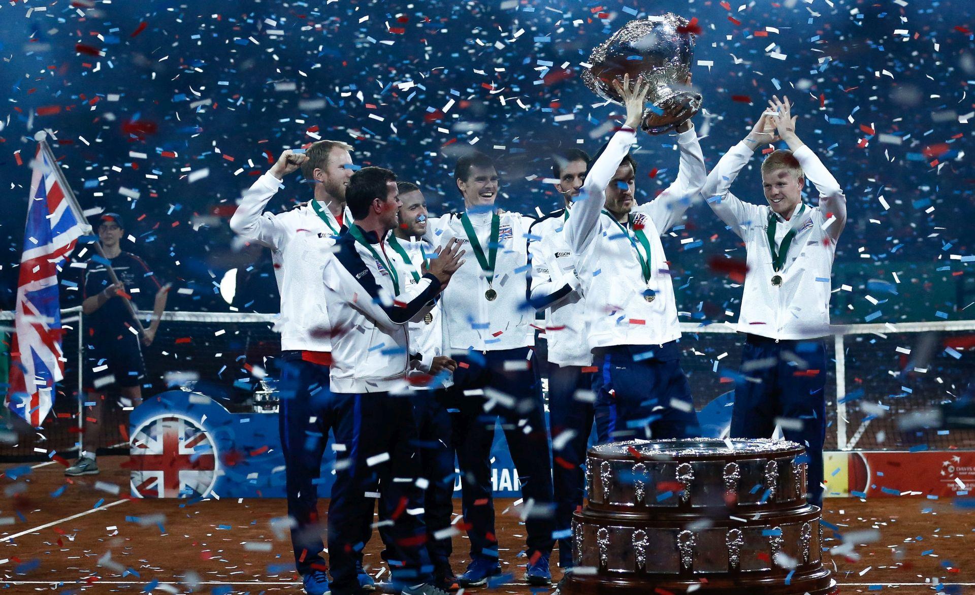NAKON 79 GODINA: Velika Britanija osvojila Davis Cup