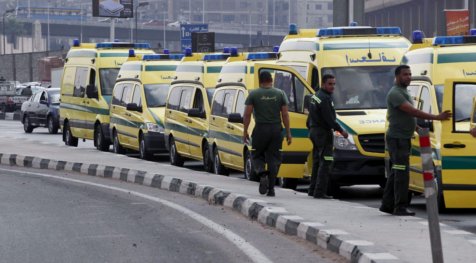 PUCNJAVA U EGIPTU Naoružani napadači na motociklima ubili četiri policajca