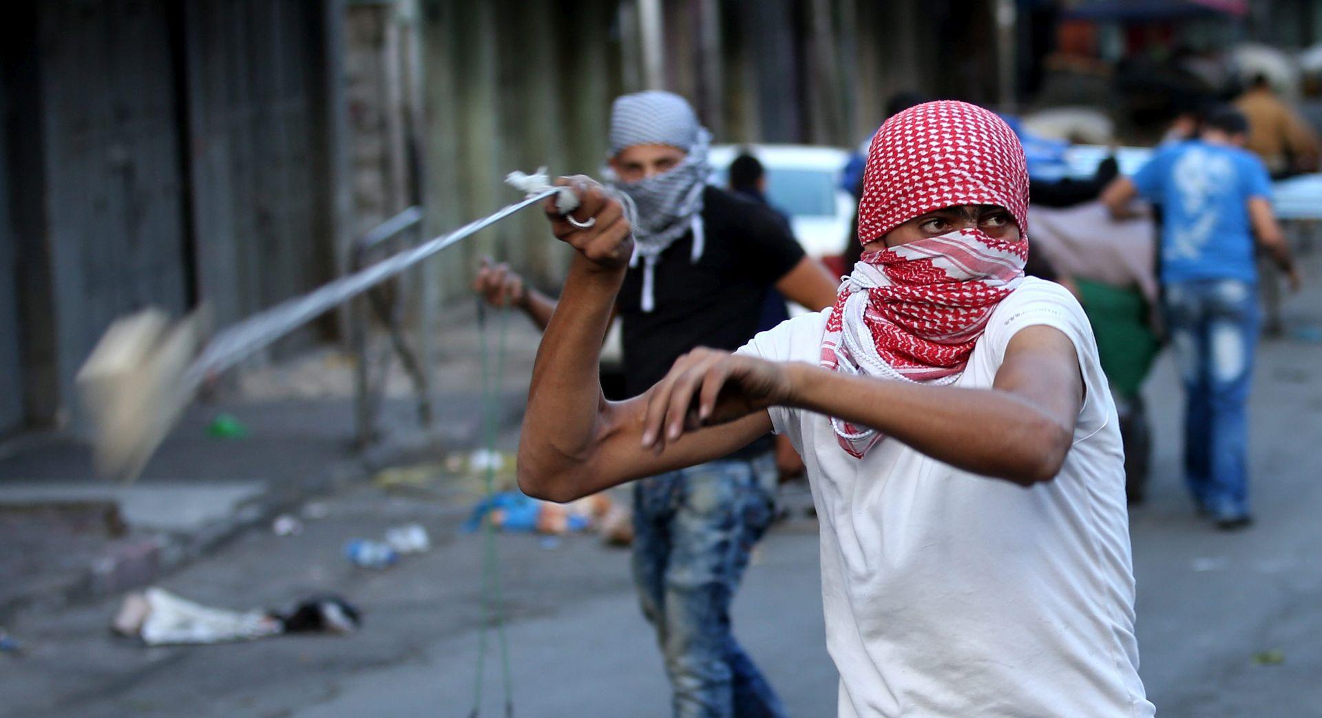 Sukobi palestinskih studenata i izraelskih policajaca na sveučilištu