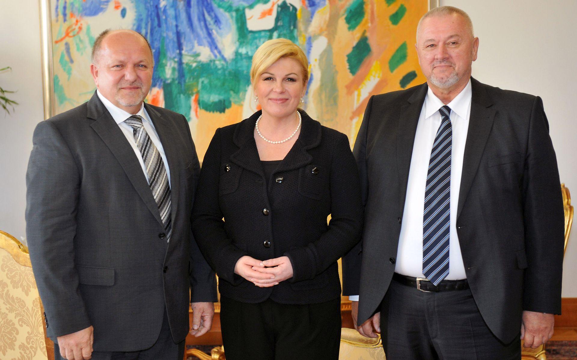 Grabar-Kitarović s predstavncima Hrvata iz RS-a razgovarala o njihovu položaju