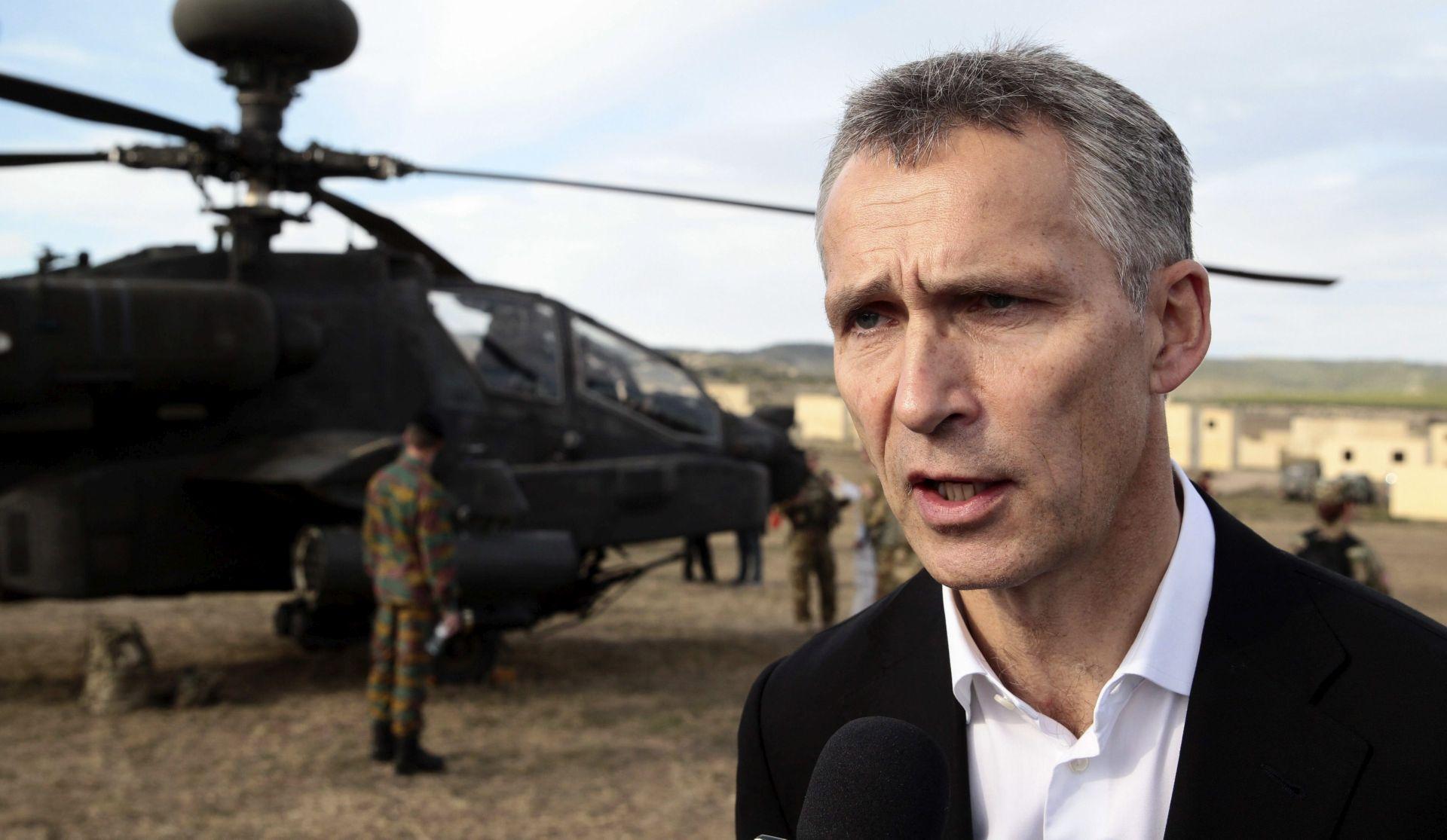 Stoltenberg: NATO se mora oduprijeti ruskom vojnom pojačanju