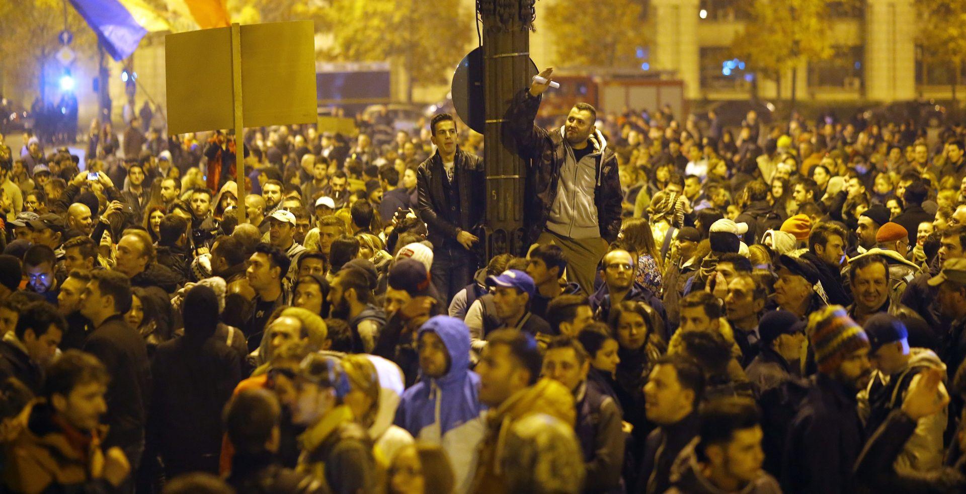 U Bukureštu novi prosvjed nakon drame u noćnom klubu