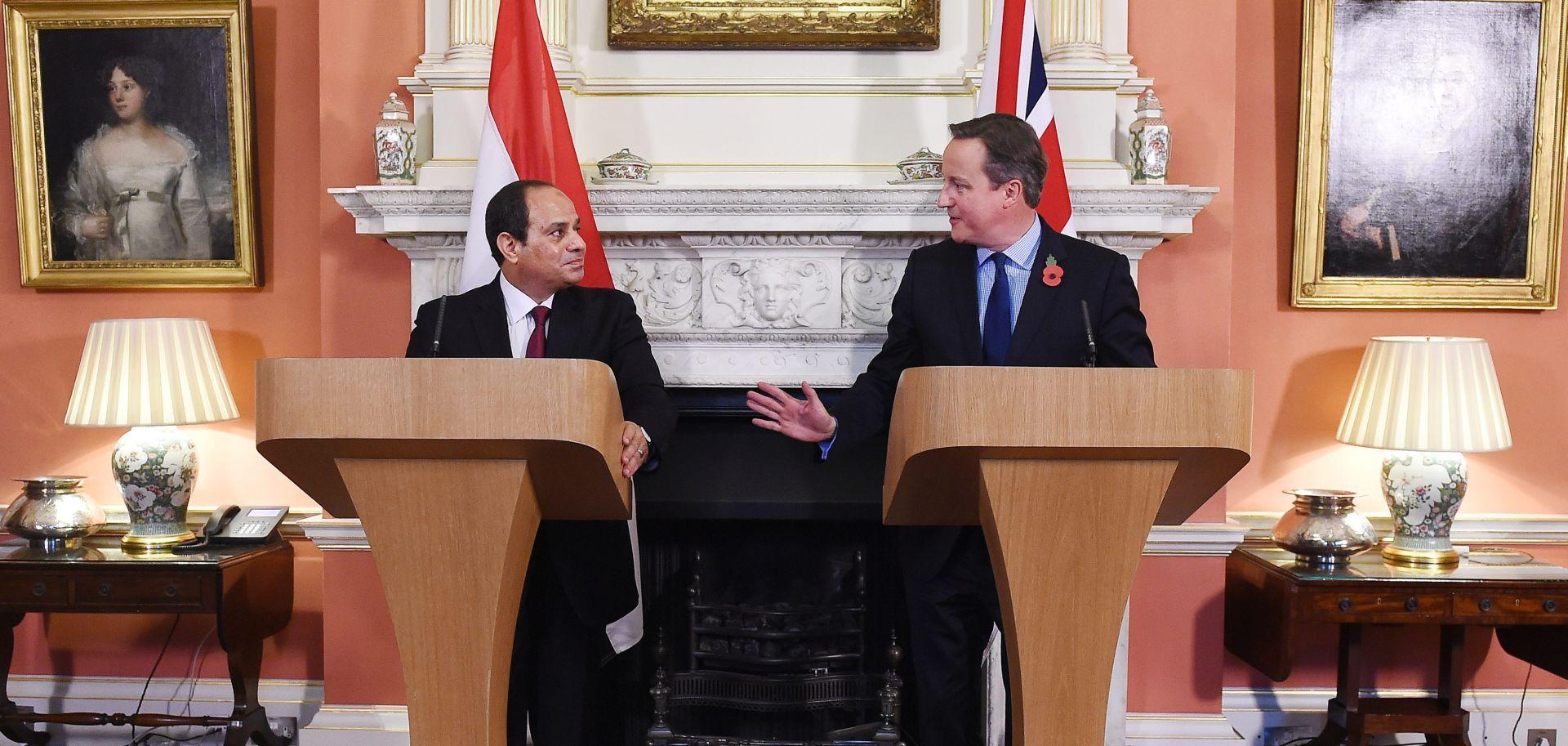 Cameron: Velika Britanija i Egipat usko surađuju oko pada zrakoplova