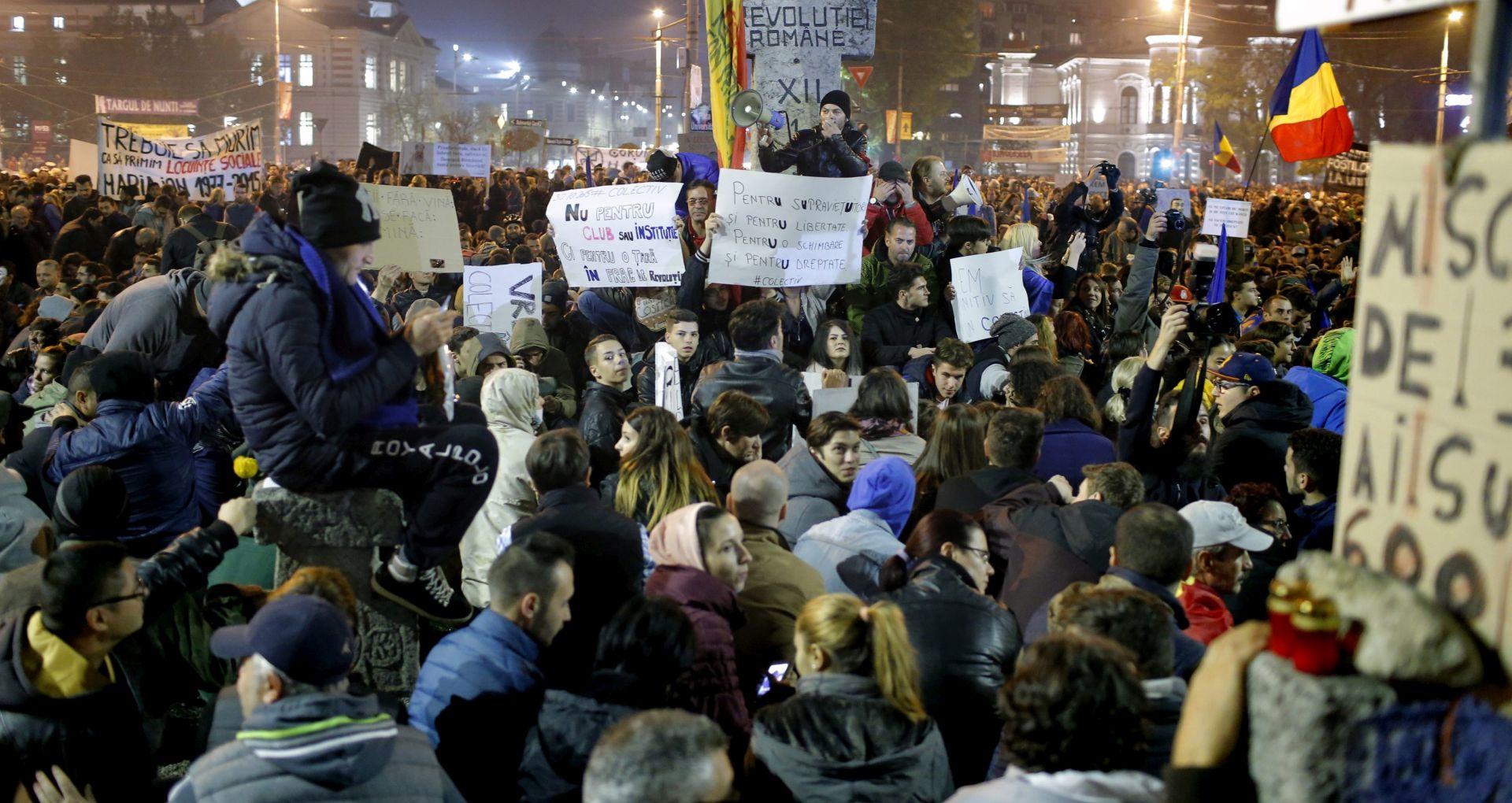 POŽAR U RUMUNJSKOM NOĆNOM KLUBU Još šest osoba preminulo, nastavljaju se prosvjedi