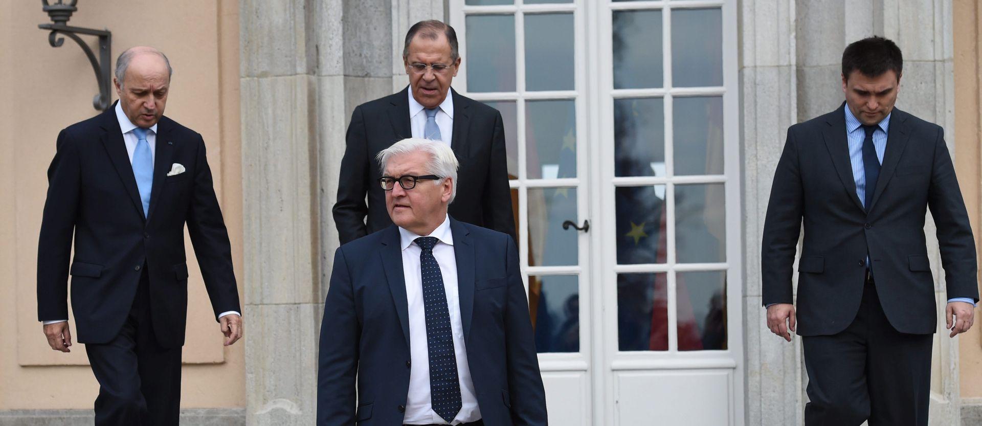 Šefovi diplomacije četvorke razgovarali o ukrajinskoj krizi