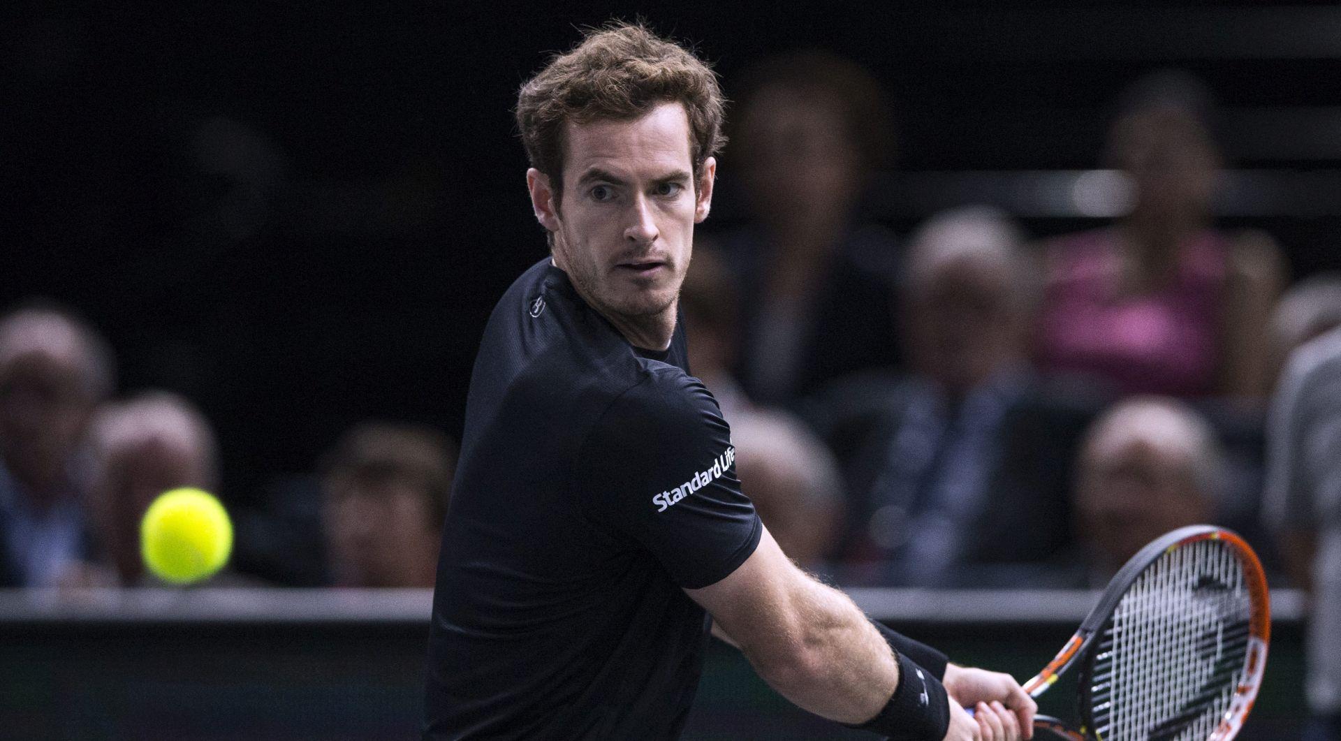 ATP PARIZ Andy Murray prvi finalist, čeka Đokovića ili Wawrinku