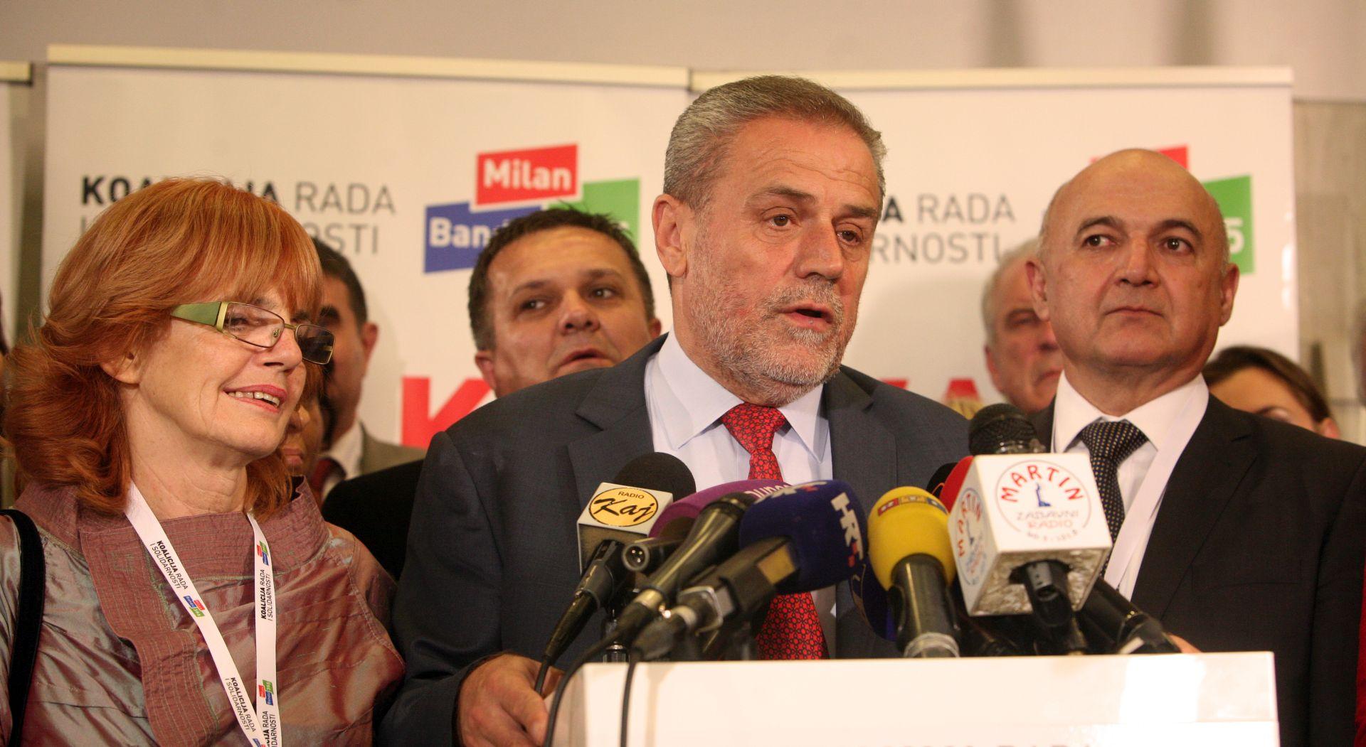 Bandić: Ni s kim nisam razgovarao o koaliciji