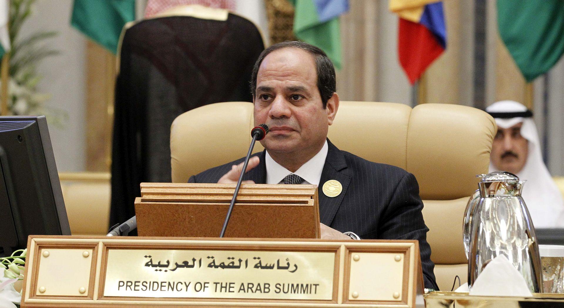 Egipat: Al Sisi nakon rušenja zrakoplova obećao jačanje sigurnosti u zemlji