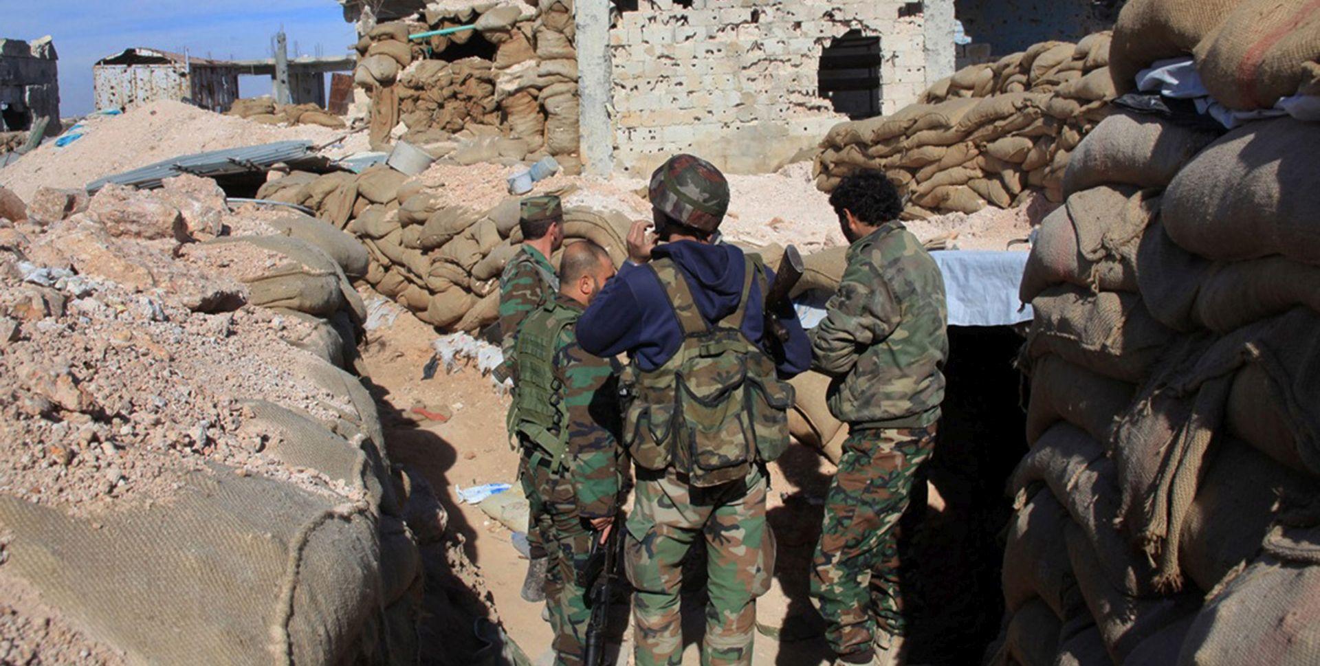 Sirijski savez uz pomoć SAD-a zauzeo grad Houl blizu iračke granice