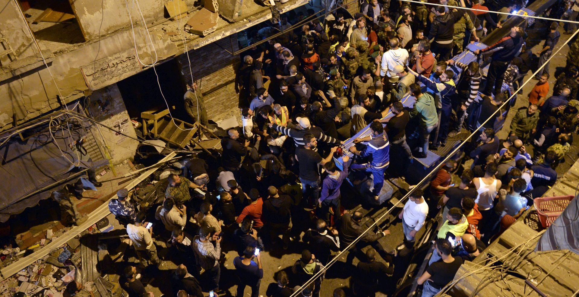 ODGOVORNOST PREUZELA ISLAMSKA DRŽAVA Najmanje 37 mrtvih u dvije eksplozije u Bejrutu