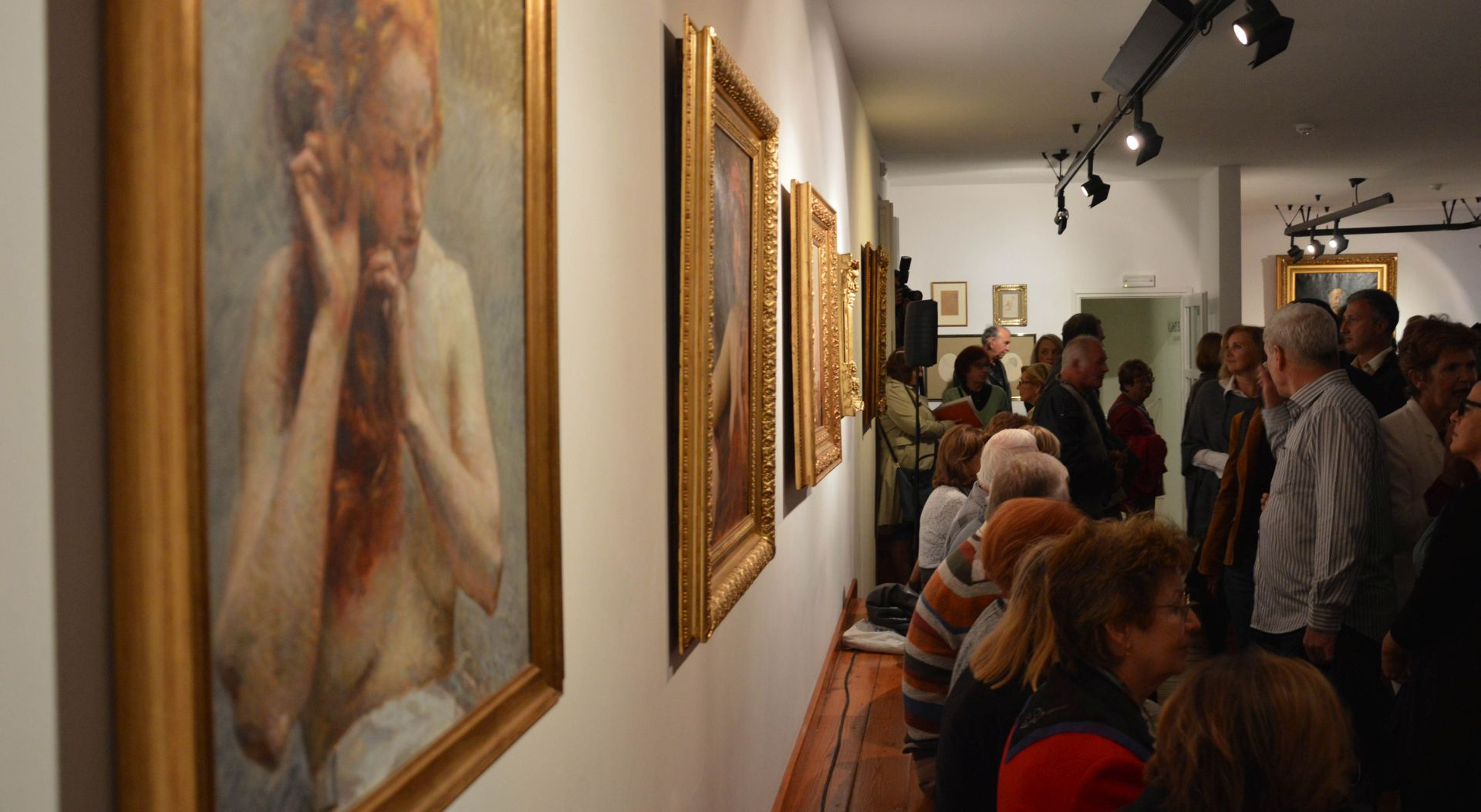 Dubrovnik: Otvorena izložba slika V. Bukovca iz privatnih zbirki