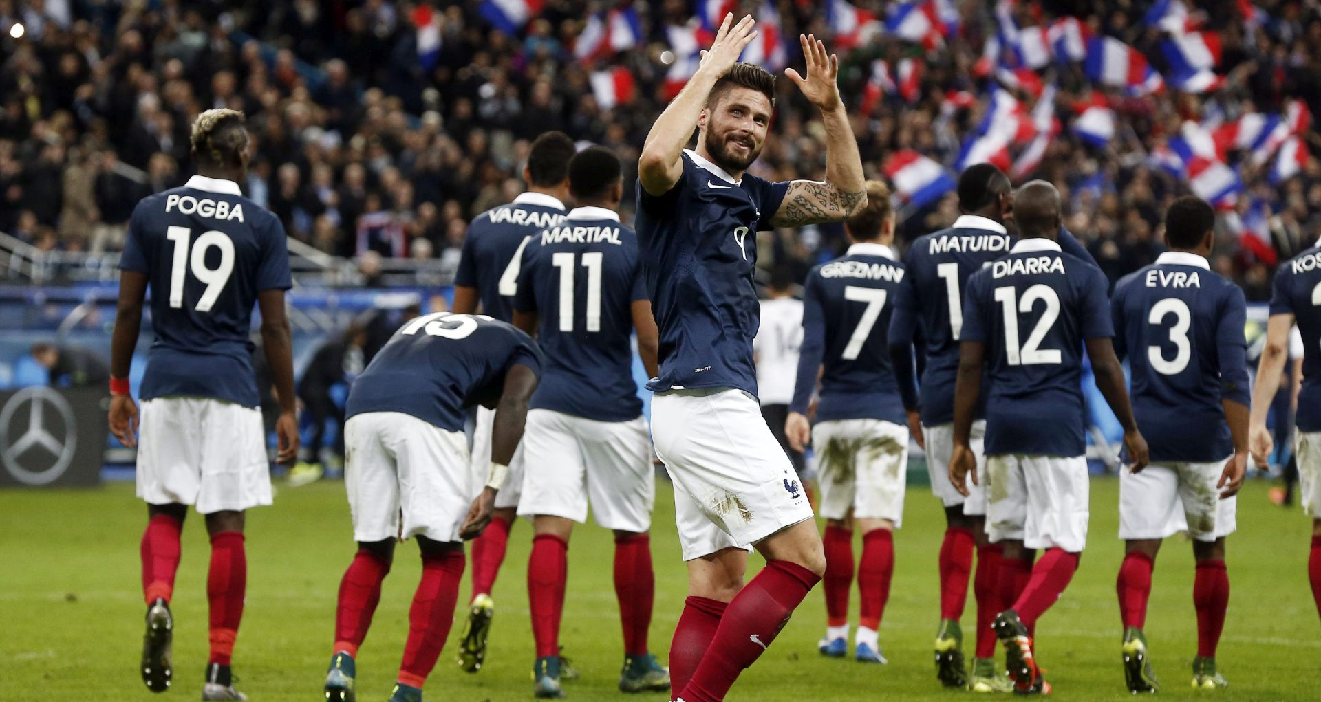 ROY HODGSON Pozdravljam odluku da se odigra utakmica na Wembleyju, pokazat ćemo solidarnost s Francuzima