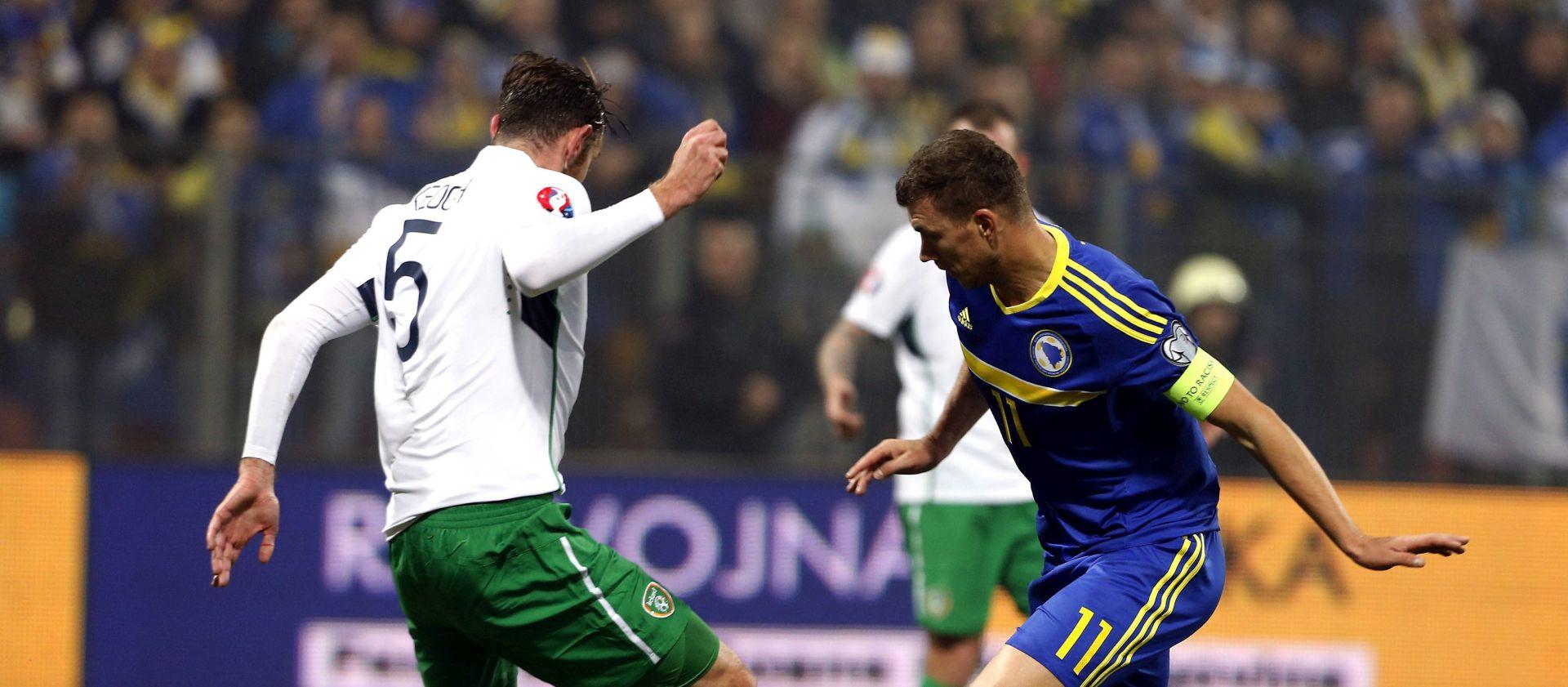 DODATNE KVALIFIKACIJE ZA EURO Remi Bosne i Irske – Džeko vratio nadu 'Zmajevima'