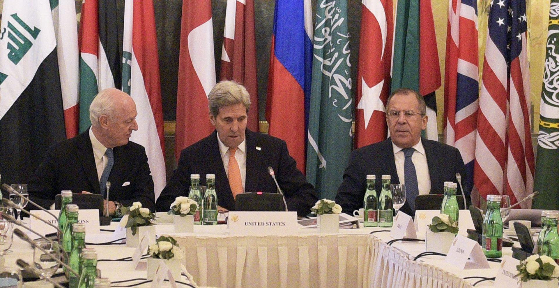 Nakon napada u Parizu težište sirijskih mirovnih pregovora u Beču je borba protiv IS-a