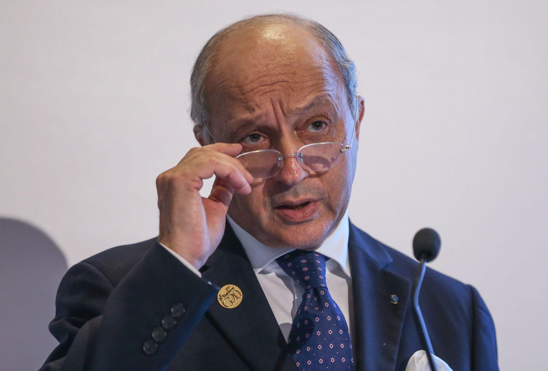 Fabius ublažio izjavu o mogućnosti suradnje sa sirijskom vojskom
