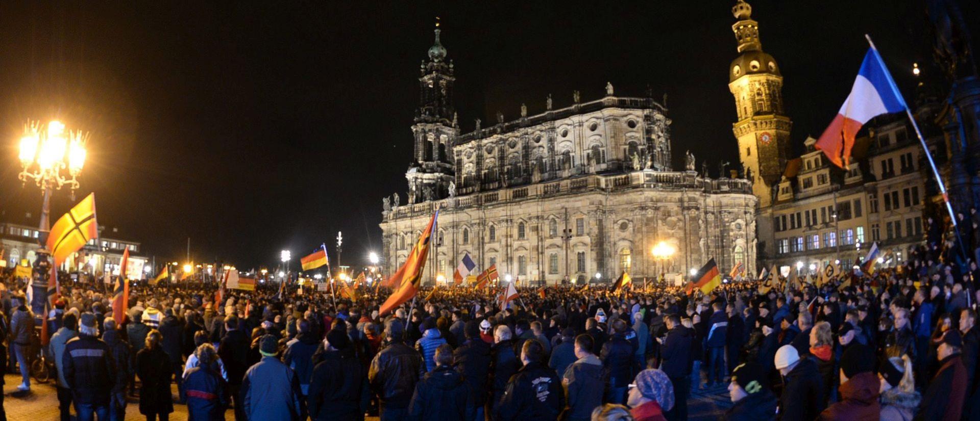 Prosvjedi protiv imigracije u Njemačkoj nakon terorističkih napada u Parizu