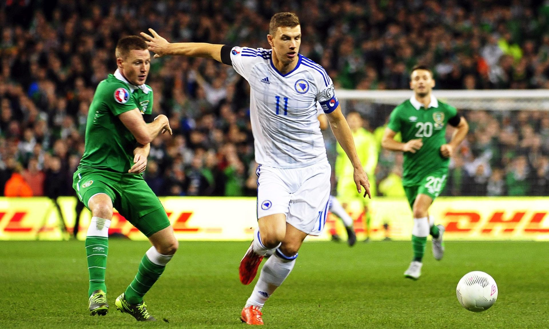 WALTERS SRUŠIO 'ZMAJEVE' Irska izborila Europsko prvenstvo
