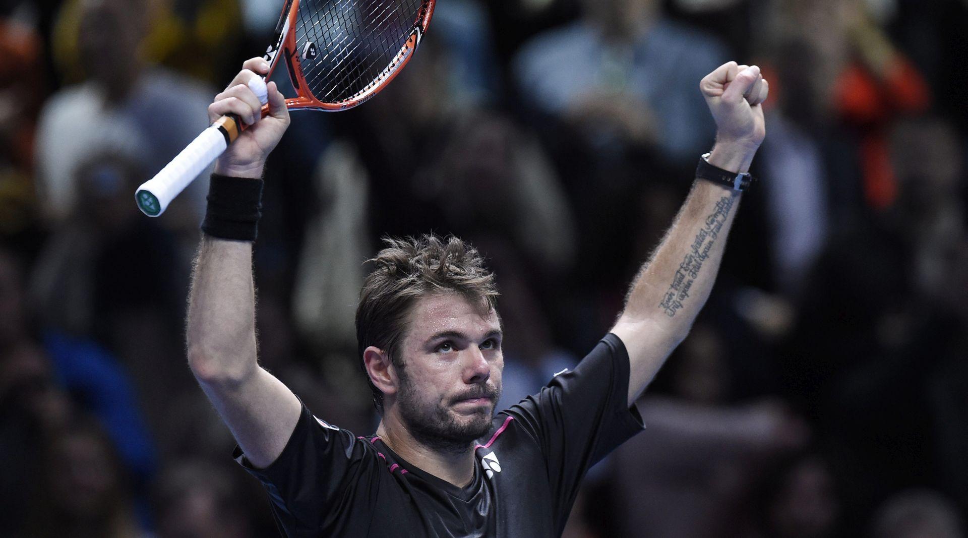 ATP MASTERS Wawrinka bolji od Ferrera, Nadal pobjednik skupine