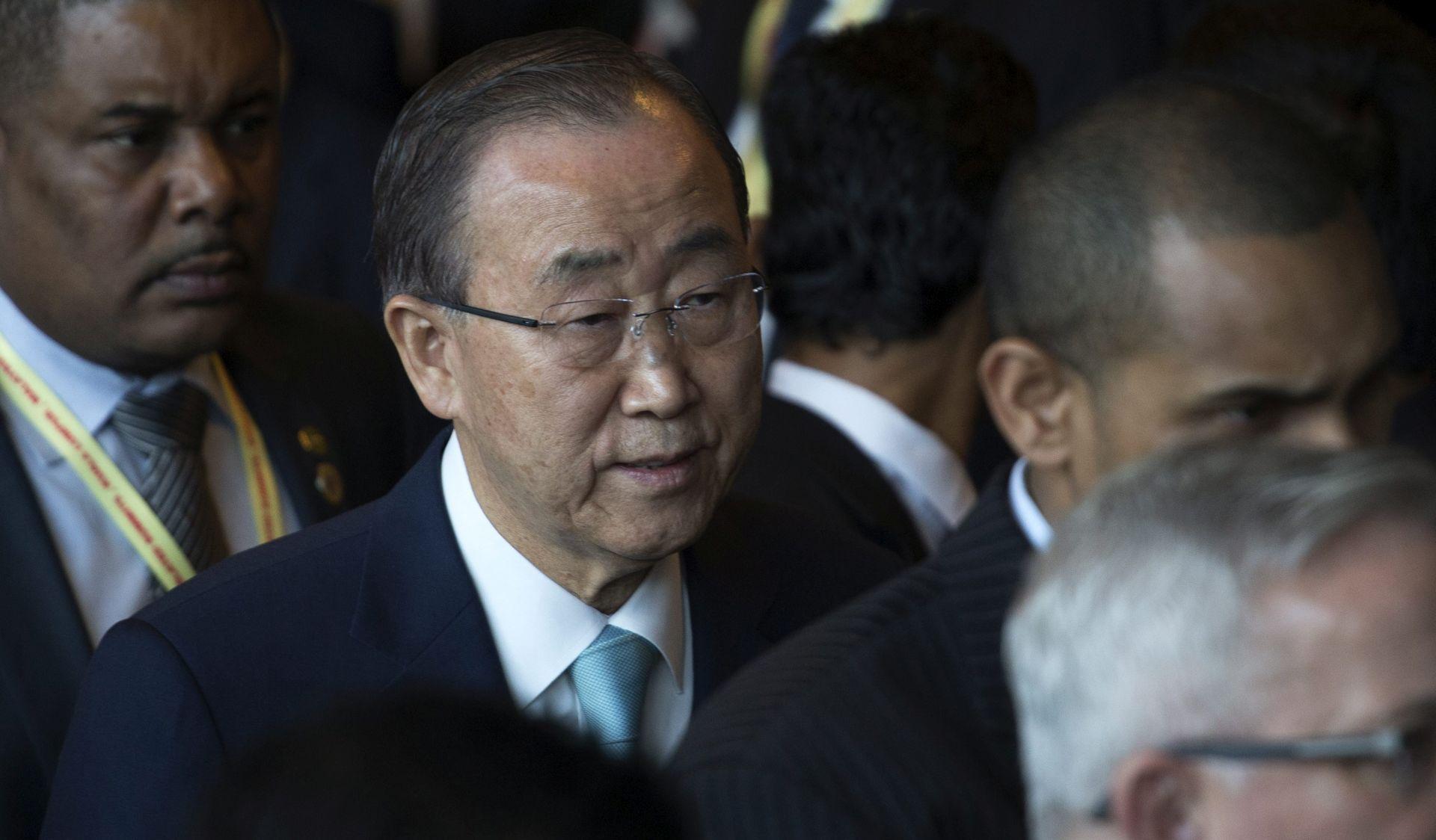 """Ban Ki-moon: """"Sve te teroriste i ideloške ekstremiste treba poraziti u ime čovječanstva"""""""