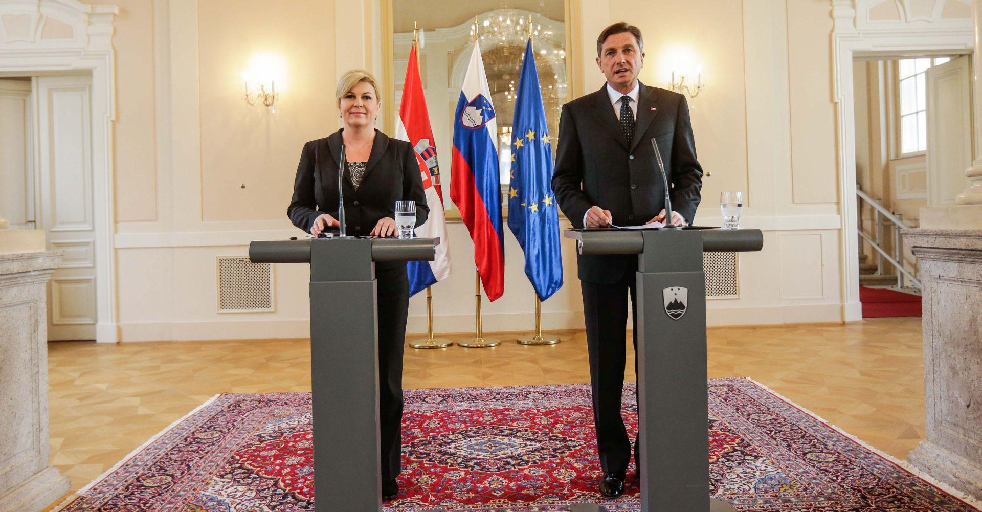 Pahor i Grabar-Kitarović o očekivanim političkim porukama summita koji se u srijedu održava u Zagrebu