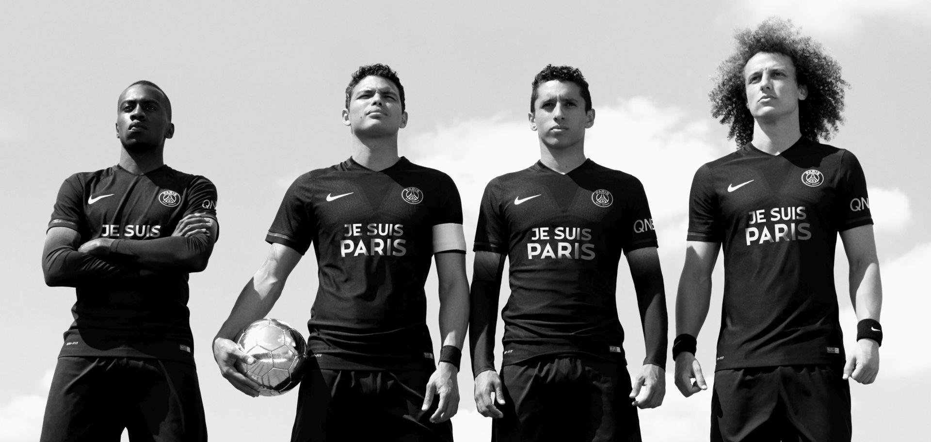 'JE SUIS PARIS' PSG predstavio dresove kojima odaje počast poginulima u terorističkom napadu