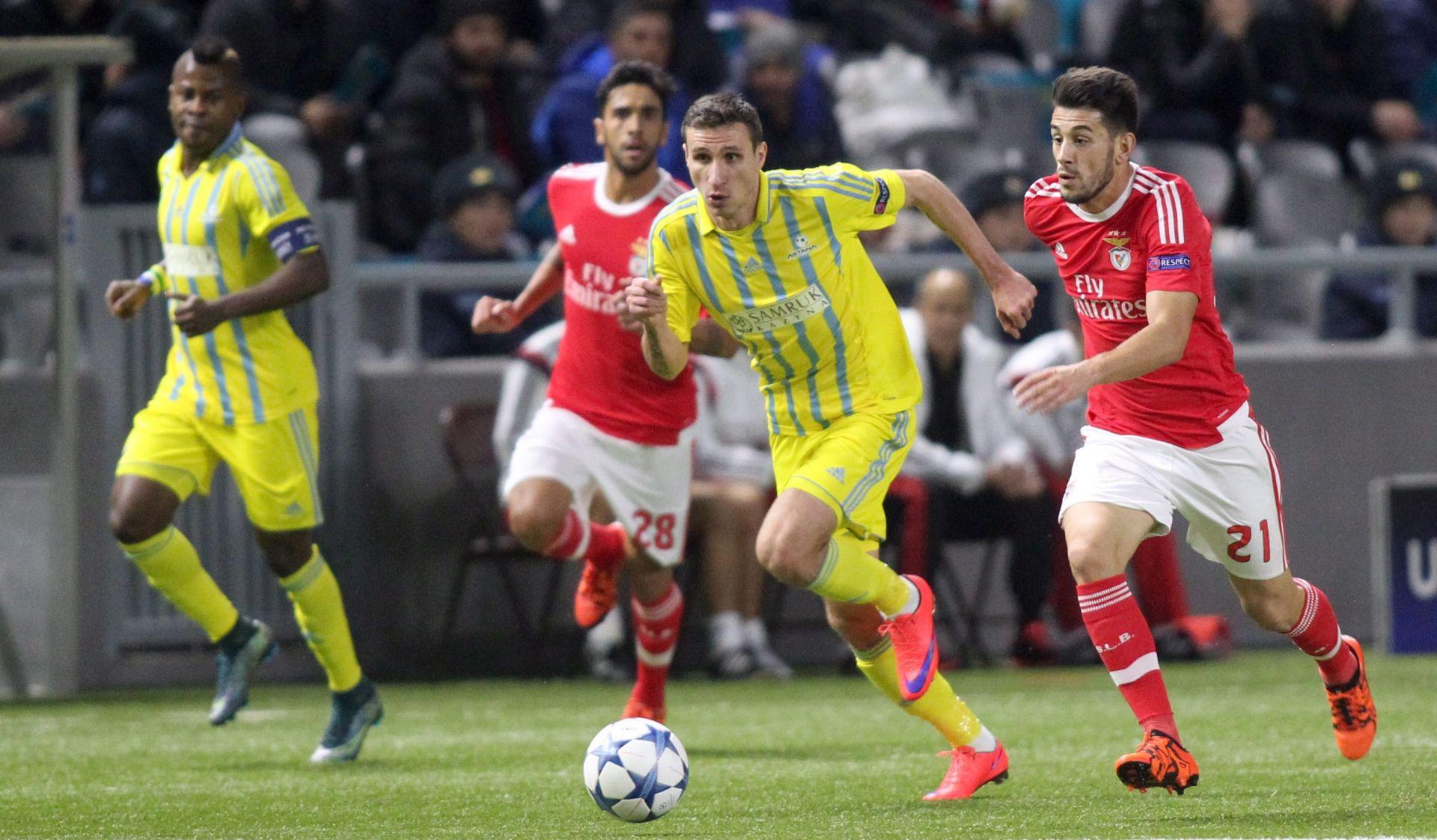 LIGA PRVAKA Astana i Benfica u Kazahstanu odigrali 2:2