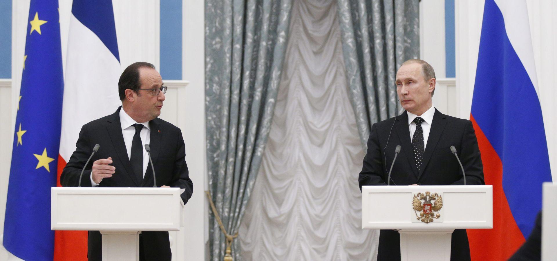 Putin za nastavak suradnje s američkom koalicijom glede Sirije