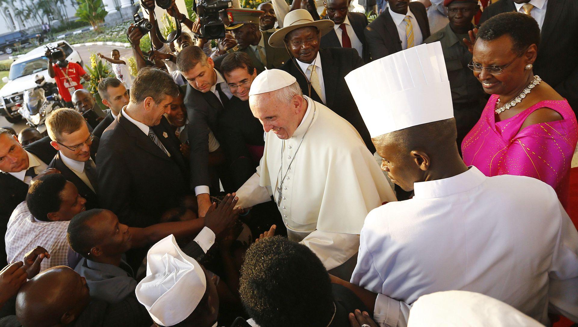 Papa u Ugandi: Odnos prema migrantima je test naše čovječnosti