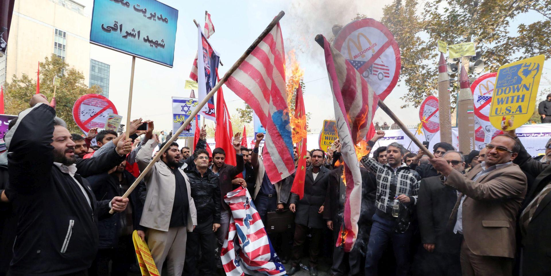 UNATOČ NUKLEARNOM DOGOVORU: SAD je Iranu i dalje najveći neprijatelj
